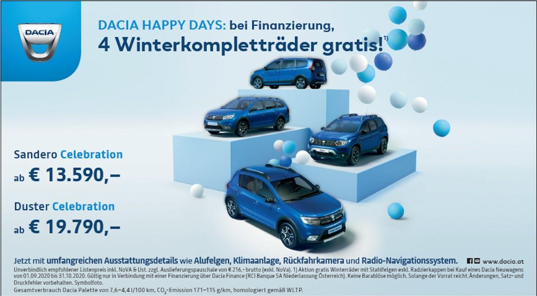 Dacia Happy Days