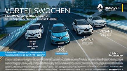 Jetzt Renault X-Mas Bonus!