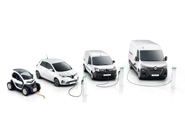 Die Renault E-Mobilitäts Range