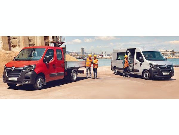 Die neuen Renault Master Modelle