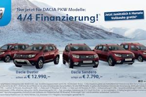 Dacia 4/4 Finanzierung